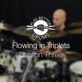 Online Drum Videos Flowing In Triplets