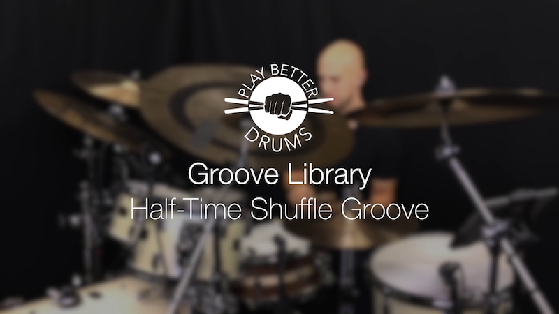 Online Drum Videos Shuffle Groove