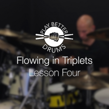 Online Drum Videos Flowing Triplets